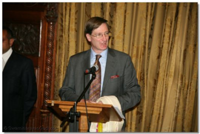 Shadow Justice Secretary Dominic Grieve QC MP gives a speech