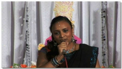 A prarthna - 'Shukriya' - being sung