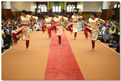 Traditional Indian dance performance