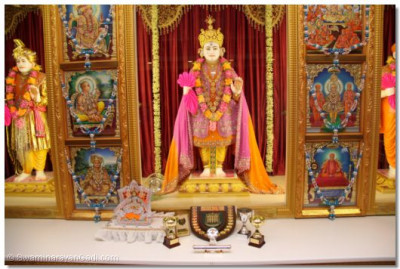 Divine darshan of the Lord at London