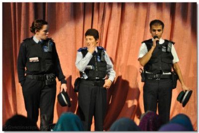 PCSOs from the Metropolitan Police