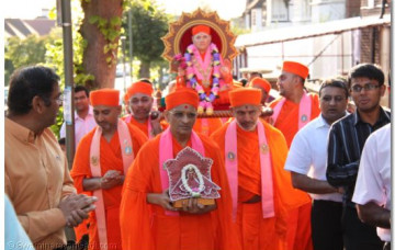 Jeevanpran Shree Muktajeevan Swamibapa Purnatithi in London
