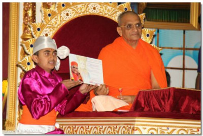 Disciples were given certificates for their excelent achievements in their education