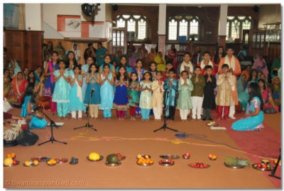 Students from various classes performed