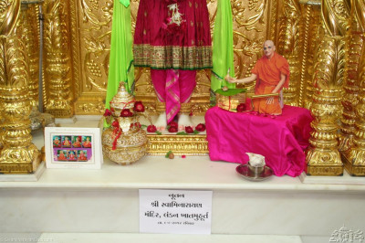 Divine darshan of Lord Swaminarayan at Shree Swaminarayan Temple Maninagar