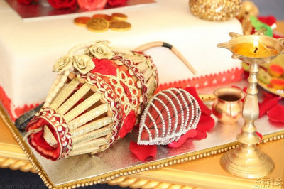 Ceremonial items for the mahapooja