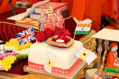 Shilanyas Celebrations cake