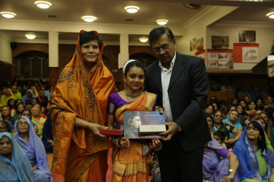 Disciples are awarded an Achievement certificate for attaining Grade 1 in Bharatanatyam awarded by the Imperial Society of Teachers of Dancing