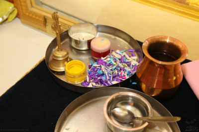 Some of the items used during the ceremony