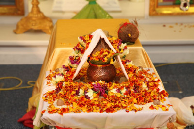 The completed mahapooja