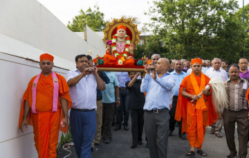 Gurupoonam Celebrations 2014 at Shree Swaminarayan Mandir Kingsbury
