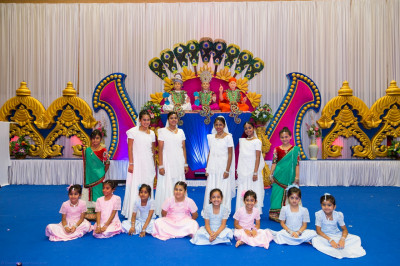 Disciples who took part in the evening devotional dance performances