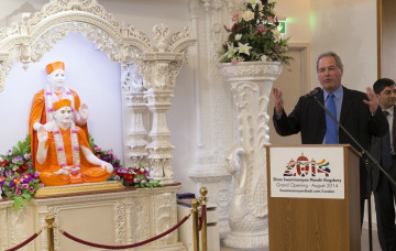 Youth counts, you count - Conservative candidates visit Kingsbury Mandir