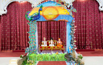 London's iconic Tower Bridge recreated at Shree Swaminarayan Mandir Kingsbury