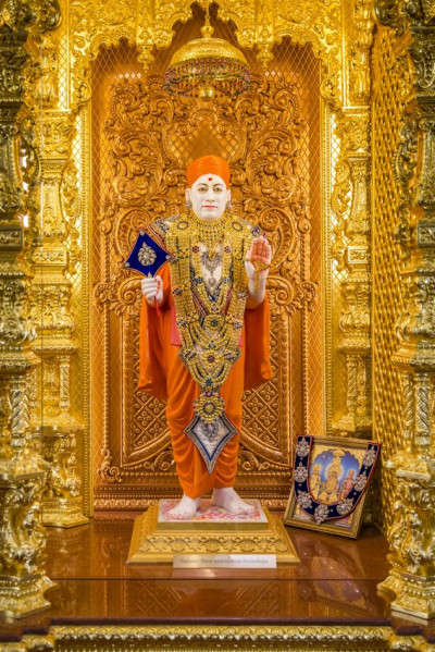 Divien darshan of Shree Muktajeevan Swamibapa