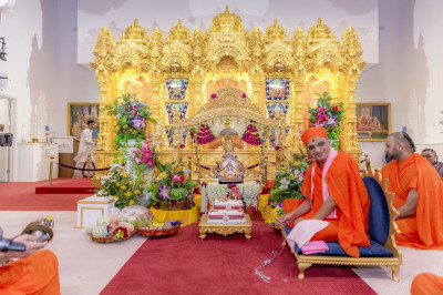 Prasad offered to Lord Swaminarayan on Janmashtami