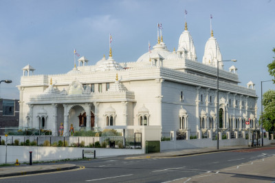 A year has passed since the grand opening of Shree Swaminarayan Mandir Kingsbury