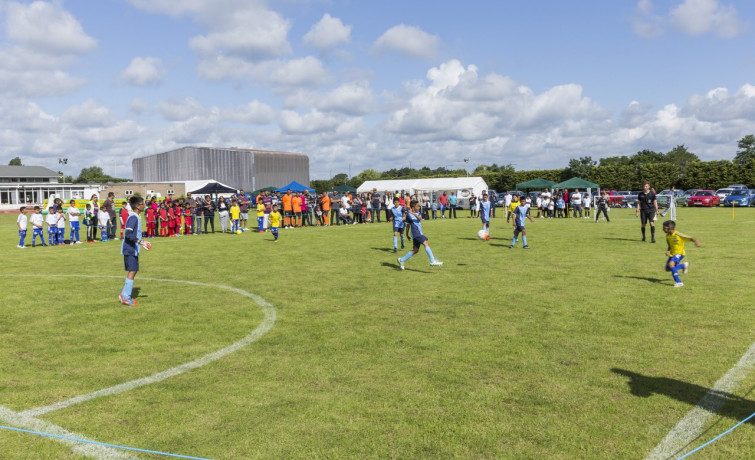 Swamibapa FC takes to the pitch at annual SKLP football tournament