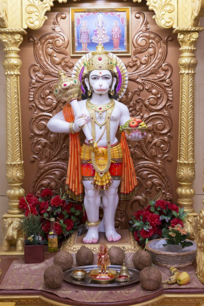 Divine darshan of Shree Hanumanji