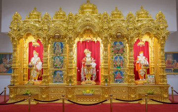 Fuldolotsav celebrations at Shree Swaminarayan Mandir Kingsbury