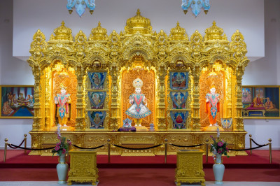Divine darshan of Lord Shree Swaminarayanbapa Swamibapa