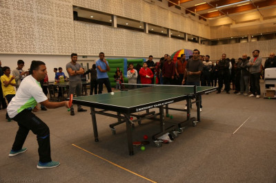 Table tennis singles finals