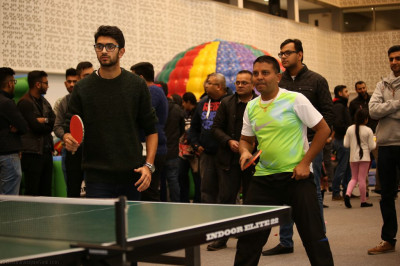 Table tennis doubles final