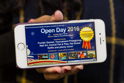 Shree Swamianrayan Mandir Kingsbury presents its first ever open day - Open Day 2016