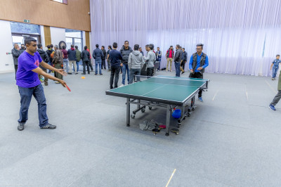The table tennis final
