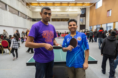 Table tennis single finals