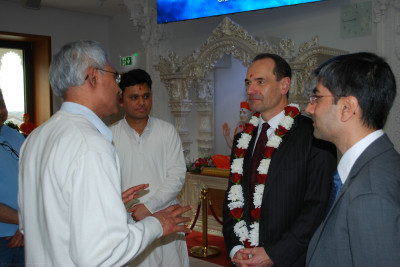Trustees and disciples detail the social, religious and wider community activities that the mandir has become a centre of
