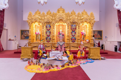 190th anniversary celebrations of the Shikshapatri at Shree Swaminarayan Mandir Kingsbury