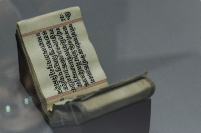 The original Shikshapatri given by Lord Shree Swaminarayan to the Governor of Bombay, Sir John Malcolm in 1826