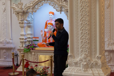 His Divine Holiness Acharya Swamishree's London UK schedule is detailed
