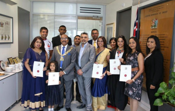 Community Champions Recognised by Mayor of Brent