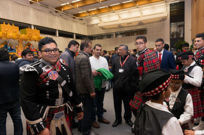 Shree Muktajeevan Swamibapa Pipe Band London stall