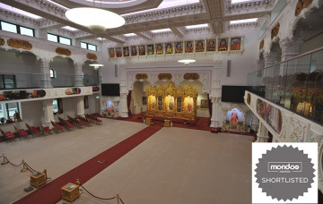 Shree Swaminarayan Mandir Kingsbury Recognised at Global Awards