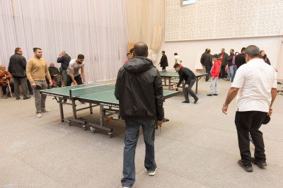 Disciples take part in the open day competitions