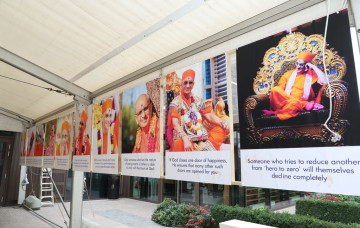 Finale to Sadbhav Amrut Parva global festivities proves to be an incredible experience