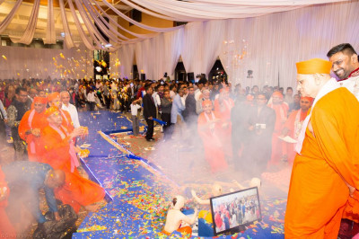 The Sadbhav Amrut Parva celebration in London draws to a conclusion