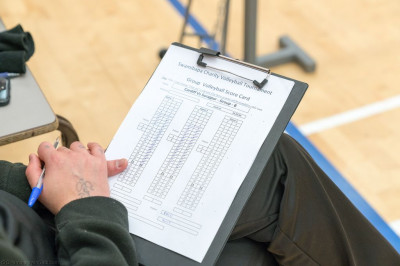 Swamibapa Volleyball Tournament score sheets