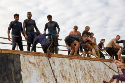 Disciples take part in tough mudder to raise money for Save the Children