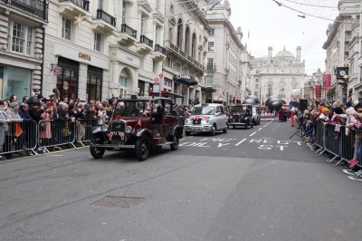 A variety of different vehicles also took part in the parade