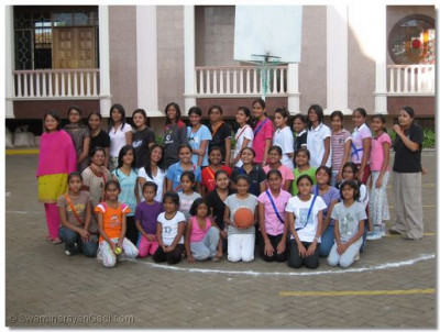 Group photo of Netball players