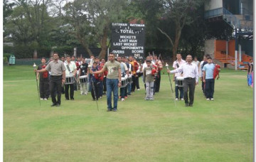 H.H.Swamibapa Pipe Band Performs At Madaraka Day Celebrations