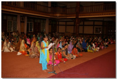 Philosophy of Lord Swaminarayan is narrated in English by a young devotee
