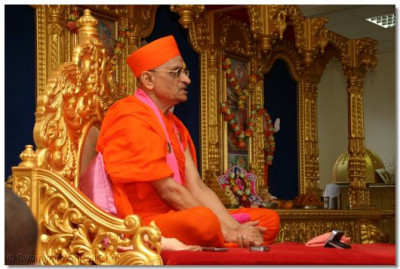 Divine darshan of HDH Acharya Swamishree