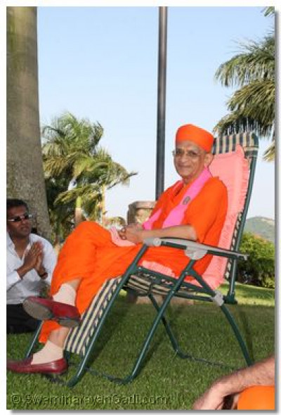 HDH Acharya Swamishree at  Munyonyo