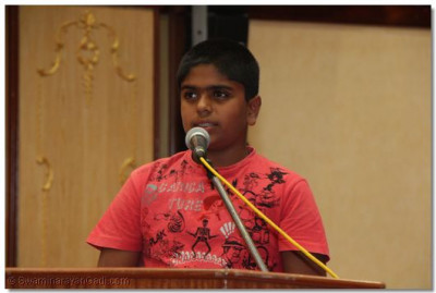 A young devotee narrates 'panch vartman of gruhastha'