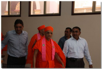HDH Acharya swamishree at Swamibapa education Centre